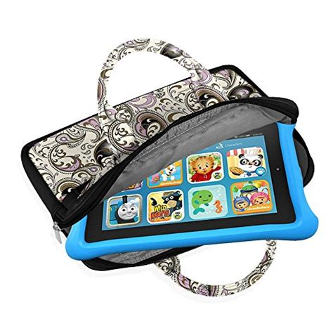 Leather Universal Tablet 6 8 fintie universal 6 8 inch tablet zipper sleeve pu leather