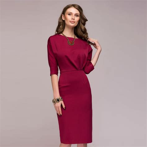 8 Everyday Dresses For Any by Dress 2018 Half Sleeve O Neck Knee Length