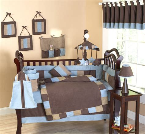 Brown And Blue Crib Bedding Cowboy Baby Crib Bedding Soho Blue And Brown Modern Cowboy Baby 9 Crib Set Buckaroo Style