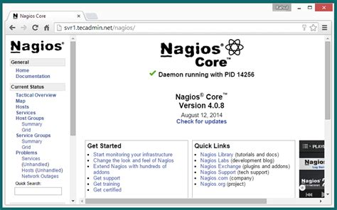nagios install tutorial ubuntu how to install nagios 4 0 8 monitoring server on ubuntu