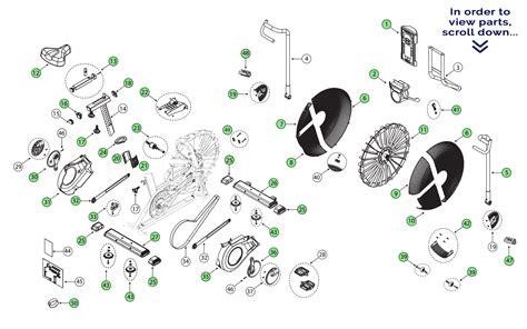 schwinn airdyne parts diagram schwinn airdyne bike repair parts bicycling and the best