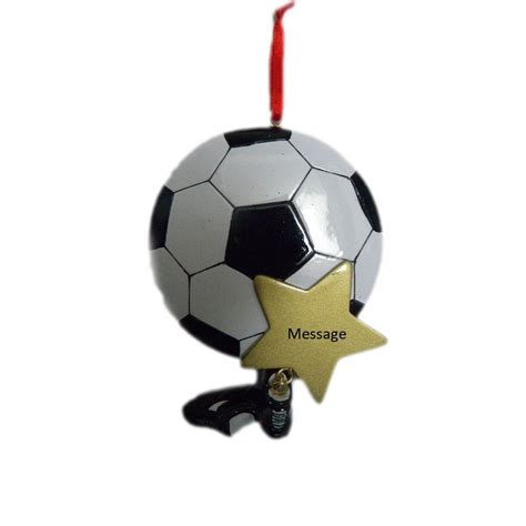 gifts for fans personalized soccer ornament great gifts for soccer