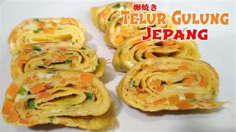 cara buat telur gulung ala korea resep cara membuat telur gulung jepang modal rp 3000 saja