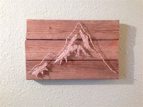String Wood - mountain string wood nail
