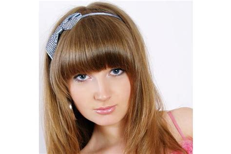 hairstyles with curved bangs curved bangs hairstyle stars