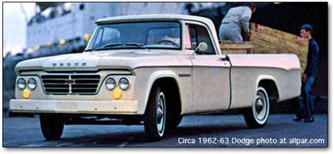 Dodge D Series Pickups, 1961 1971