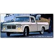 Dodge D Series Pickups 1961 1971