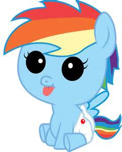 rainbow dash filly and foal mane 6 fillies fimfiction
