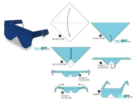 Origami Sunglasses - origami sunglasses 28 images how to make origami