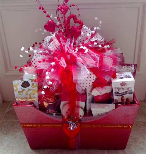 valentines basket ideas for s basket gift wrapping ideas