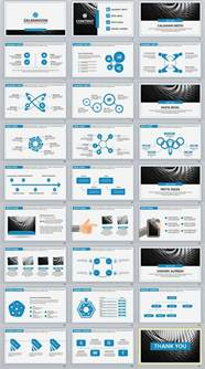 i template 27 blue business professional powerpoint templates