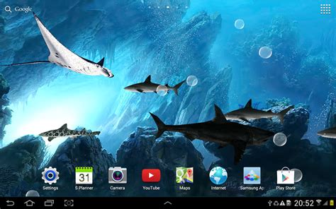 live wallpaper for pc no download 3d sharks live wallpaper android apps on google play