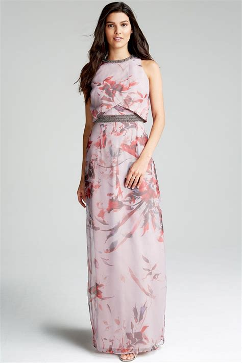 Flower Maxy floral maxi dress from uk