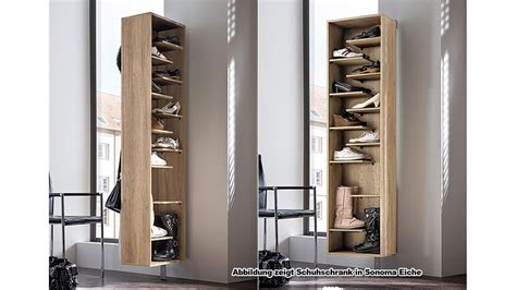 schrank zum aufklappen schuhschrank woody i garderobe schuhregal in wei 223 drehbar