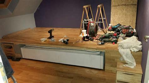 Construire Une Estrade by Construire Estrade Chambre Pensez Au Lit Estrade Pour