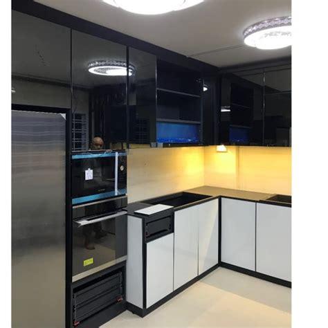 desain kitchen set aluminium minimalis harga terbaru