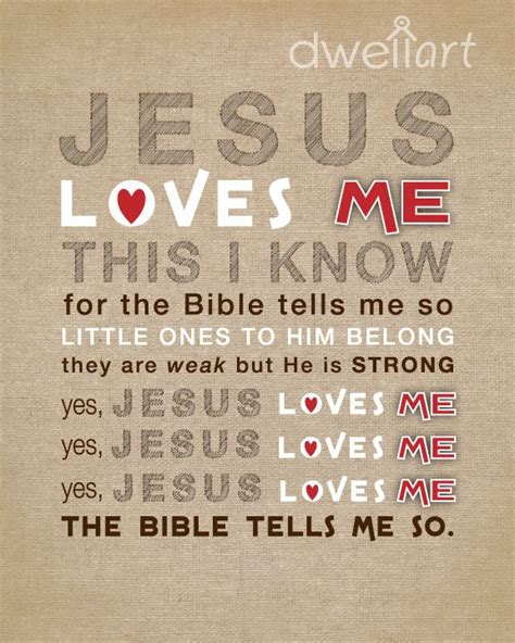 printable lyrics jesus loves me jesus loves me printable 8x10