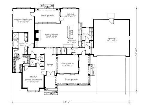 southern living garage plans 2 639 sq ft 4 bdrm 4 bath 2 story 2 car garage nice
