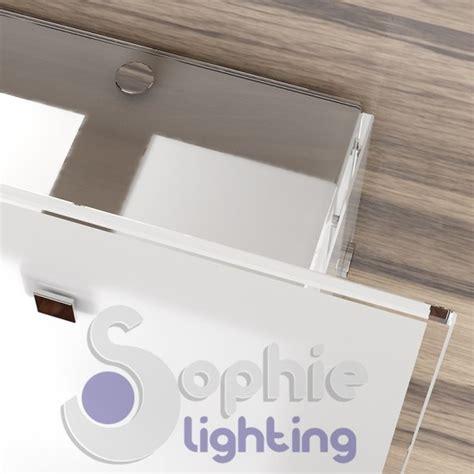 plafoniera bagno soffitto plafoniera soffitto bagno design moderno acciaio vetro