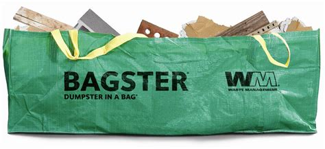 waste management bagster dumpster in a bag 174 lowe s canada
