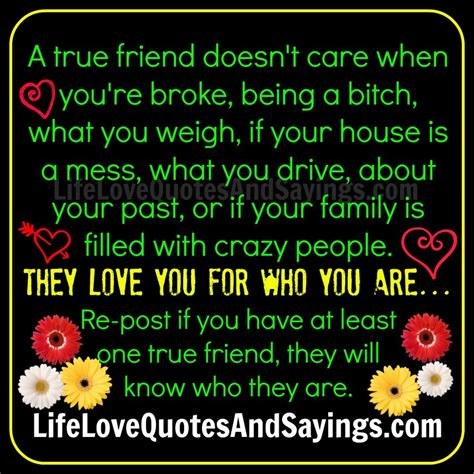 Friend Quotes Friends Who Dont Care Quotes Quotesgram