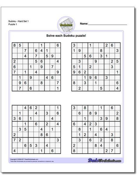 printable sudoku puzzles com samurai sudoku