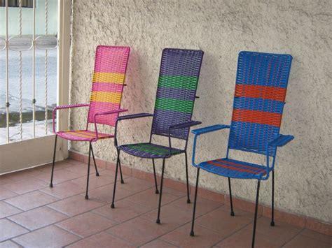 sillas tejidas  plastico respaldo alto  banco  barra  en mercado libre