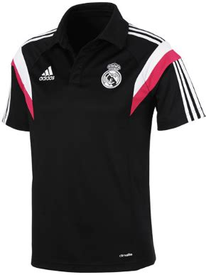 Kaos Logo Of The Match Warna Hitam polo shirt real madrid black 2014 2015 big match