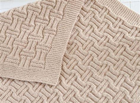 basketweave knit afghan pattern basketweave blanket knitting pattern by caroline