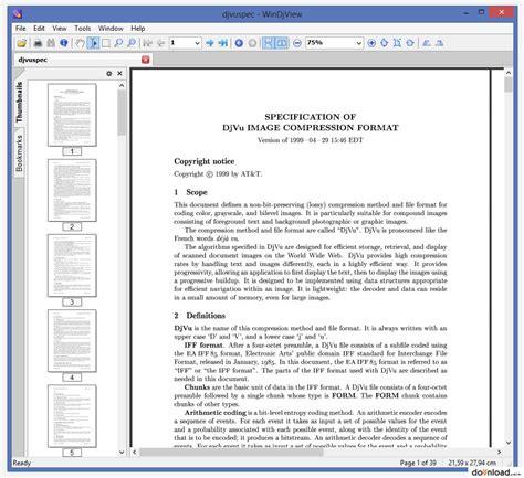 pliki format djvu windjview 2 1 download