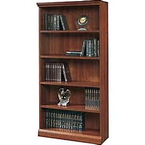 Sauder Premier 5 Shelf Composite Wood Bookcase Sauder Premier 5 Shelf Composite Wood Bookcase Planked