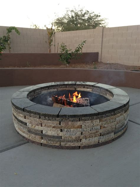 Large Firepit Large Pit Grate 187 Design And Ideas