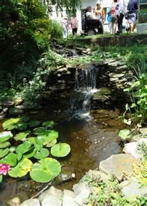 file waterfall and pond at a garden party jpg