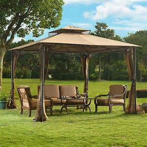 Pergola Netting by 10 X 10 Grove Gazebo With Mosquito Netting For Sale