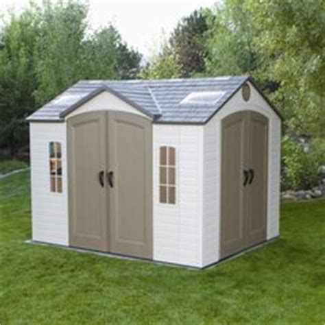 bettymills 10 x 8 garden shed with 2 doors lifetime