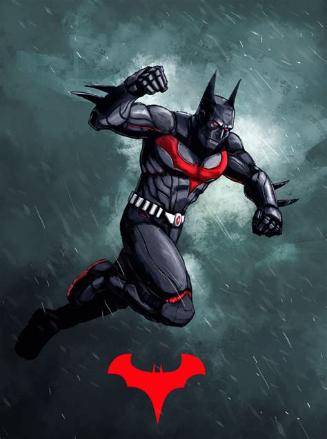 G Painting And Beyond by Batman Beyond By Xashe On Deviantart