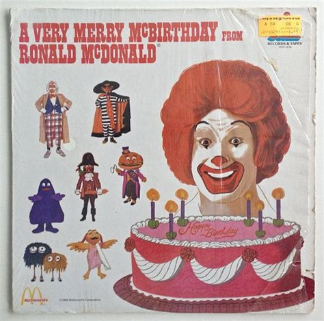 Birthday Lookup 31 Best Images About Album Cover Clowns On Vinyls Ronald Mcdonald And