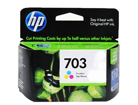 Cd888aa Hp Deskjet 703 Tri Color Ink Cartridge hp ink cartridge cd888aa colored office warehouse inc