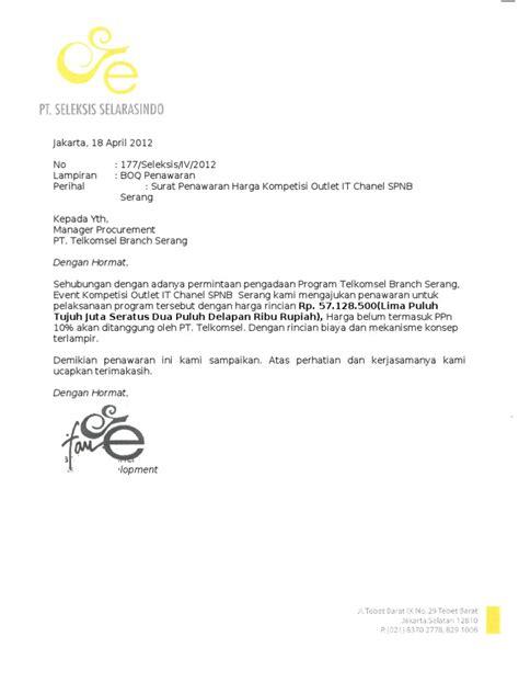 contoh surat lawatan docshare tips