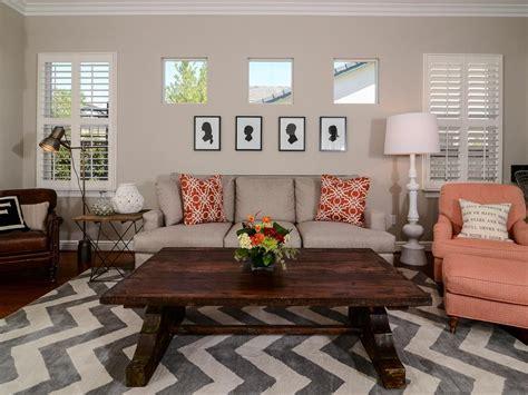 chevron living room rug photo page hgtv