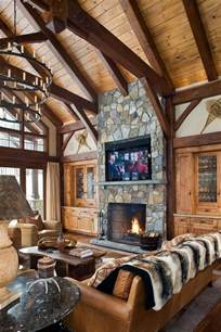 log home interior decorating ideas 50 log cabin interior design ideas future house pinterest