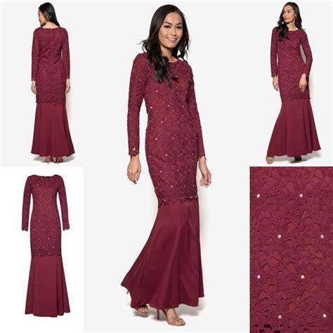 baju dress terkini trend baju kurung moden hari raya 2016 fesyen trend