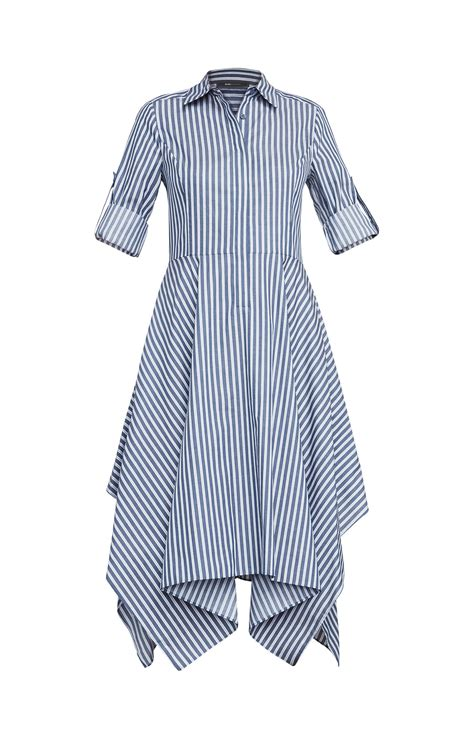 Striped Shirt Dress beatryce striped shirt dress