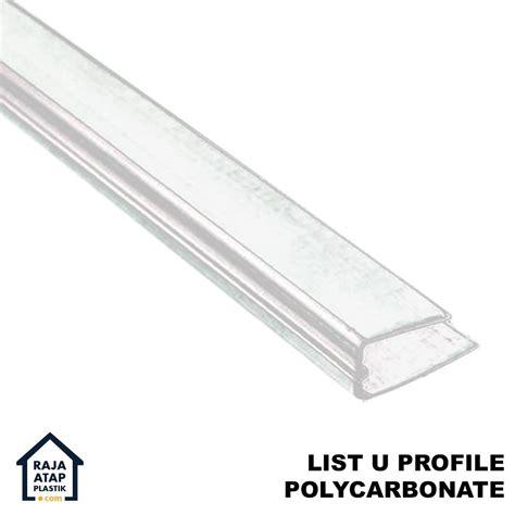 List Plafon Pvc Jintai 30137 1 Harga Murah Kwalitas Bagus jual list u polycarbonate harga murah kota tangerang oleh distributor atap plastik