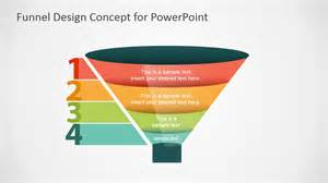 Free Powerpoint Funnel Template by Free Funnel Slide Designs For Powerpoint Slidemodel