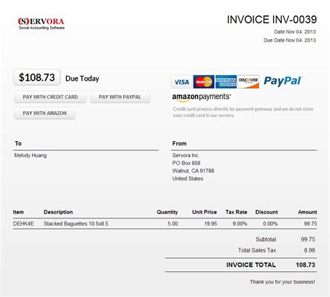 invoice forms online hardhost info