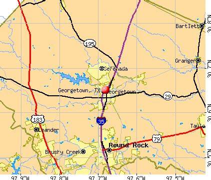 Georgetown Tx To Tx Georgetown Tx Profile Population Maps Real
