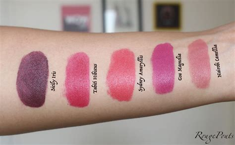 The Shop Lip Matte the shop matte lip liquid review and swatches of 5