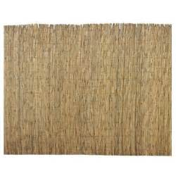 home depot privacy fence 6 ft h x 16 ft l bamboo reed garden fence