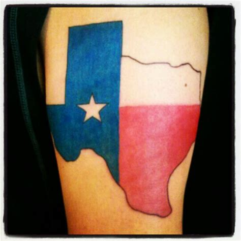 texas star tattoo 60 and city map tattoos golfian